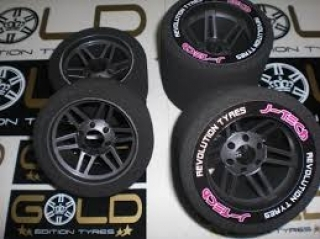 GOMME 1/8 ON ROAD POSTERIORI GOLD